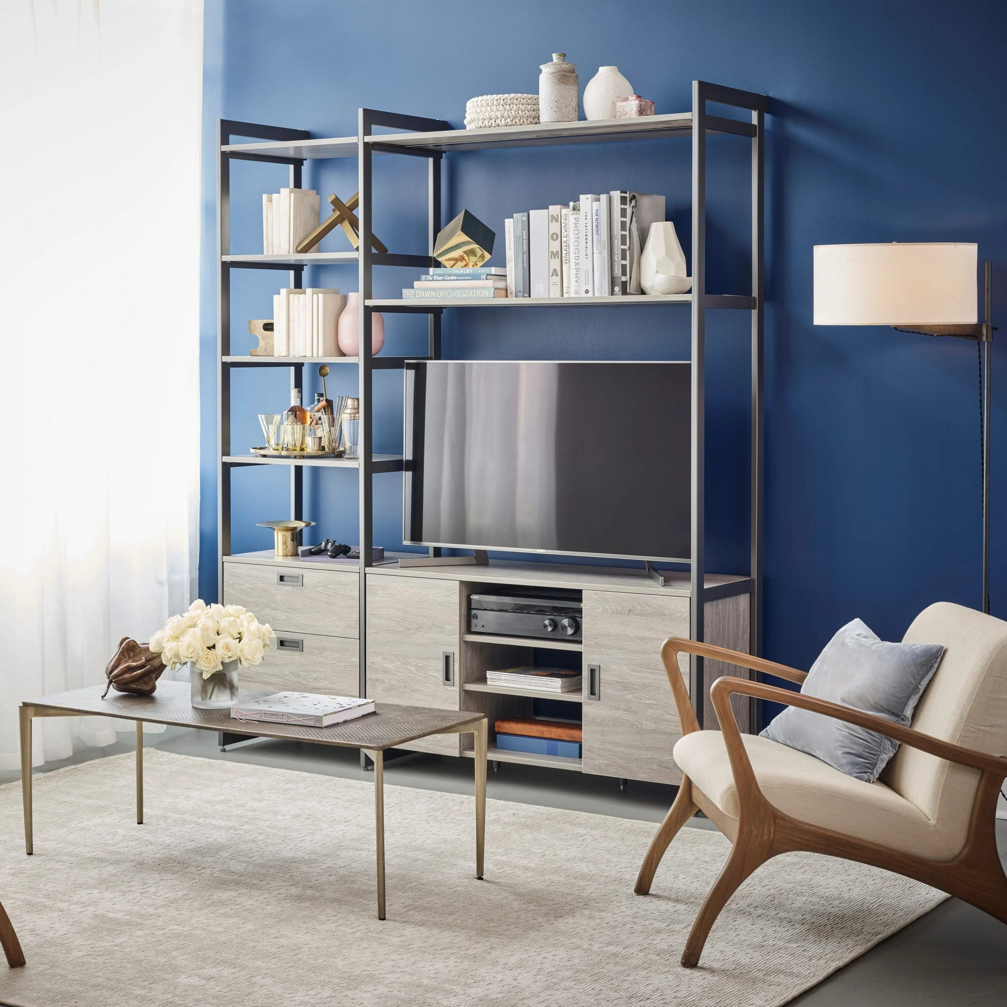California Closets The Everyday System Entertainment Center by Martha Stewart