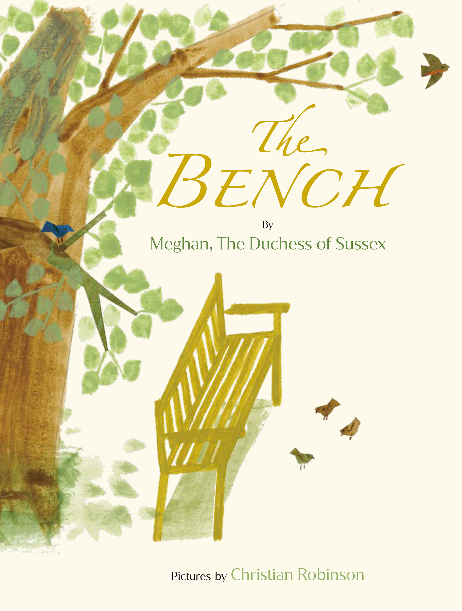 meghan markle's children book the bench cover