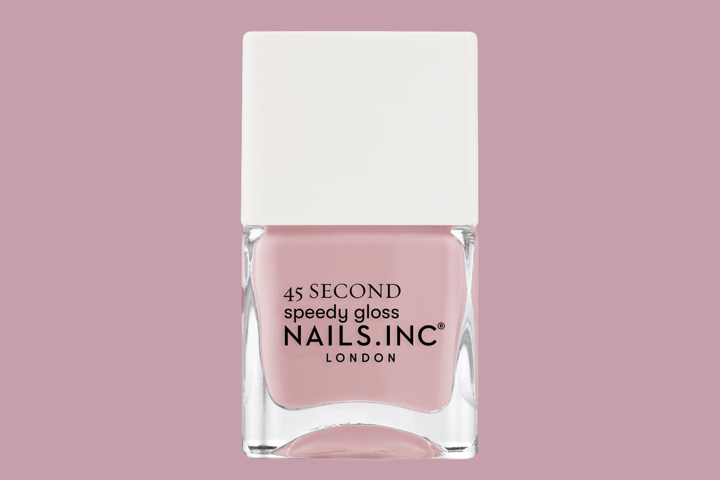 Nails inc. Kings Cross Keeps Me Cool 45 Seconds Speed Gloss