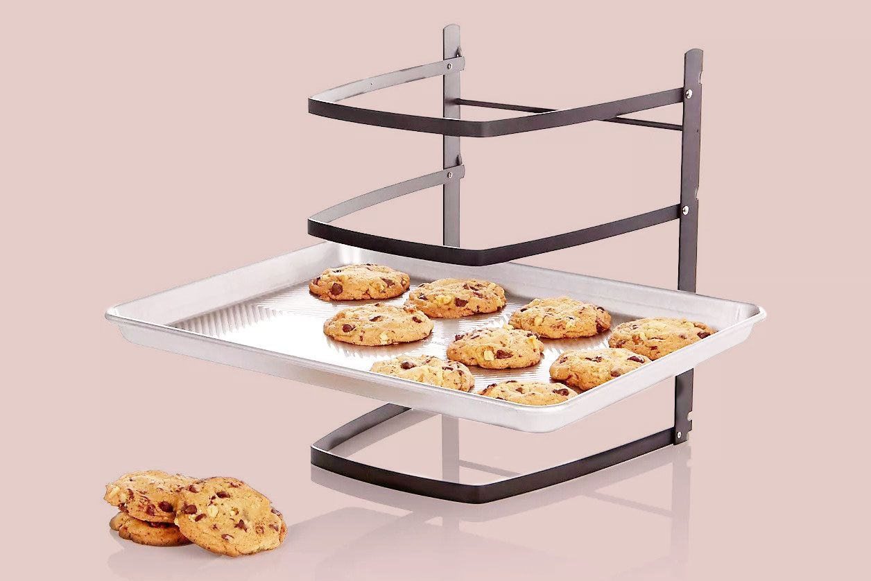 crate and barrel tiered cooling rack