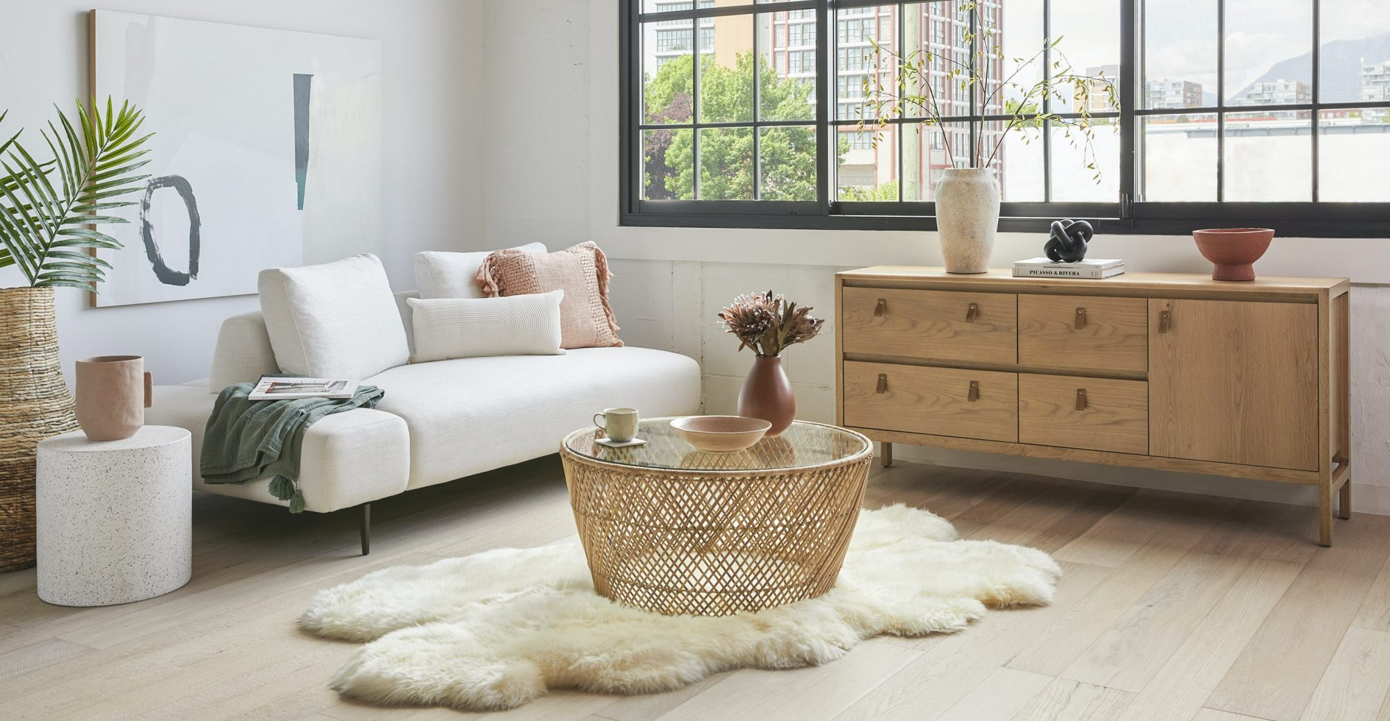 Article Catta Natural Coffee Table