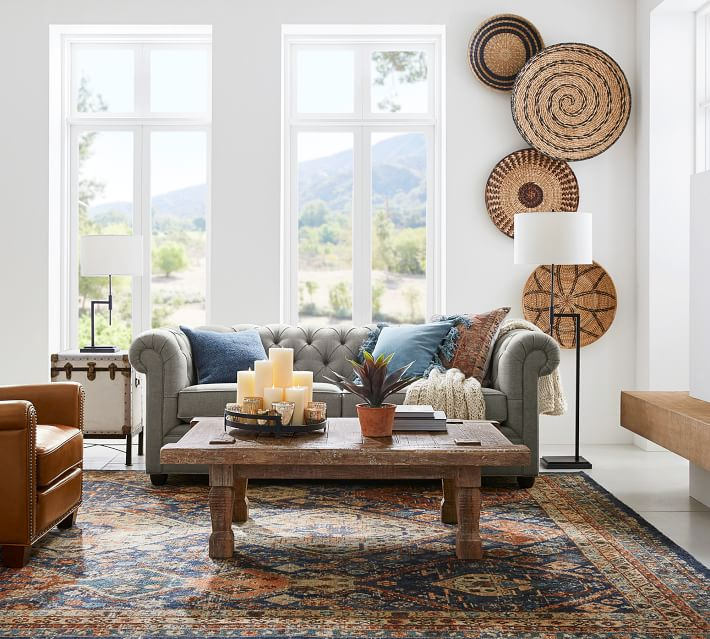 Pottery Barn Takhat Reclaimed Wood Rectangular Coffee Table
