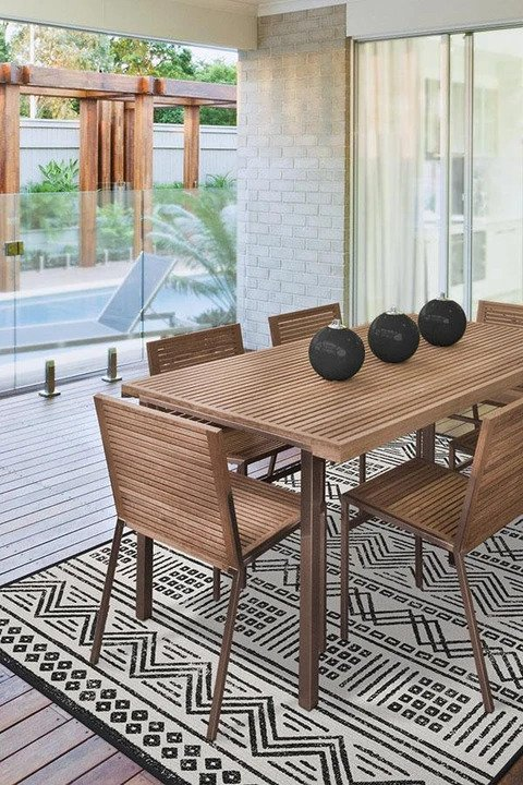ruggable outdoor loma white rug
