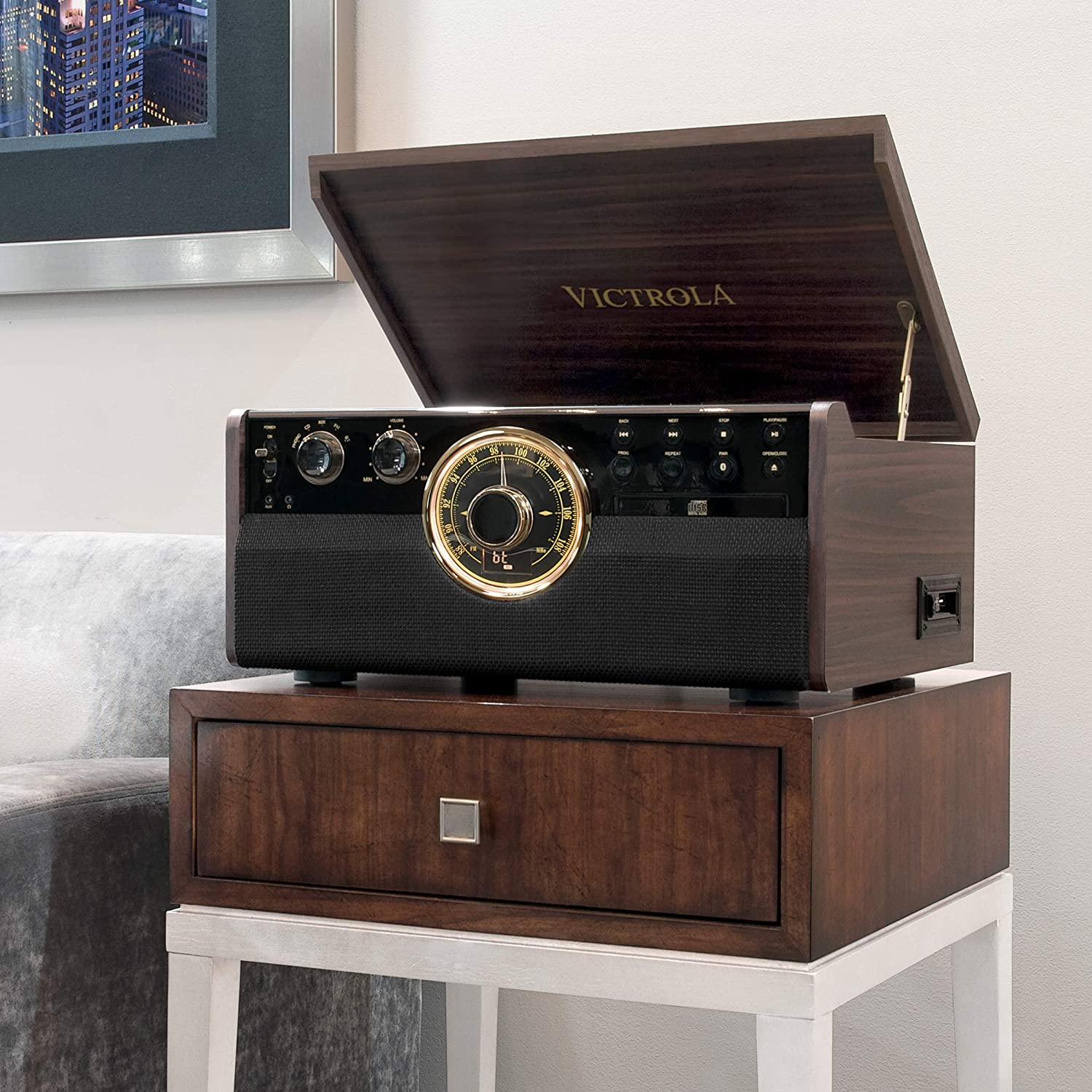 Victrola Empire Bluetooth Record Player