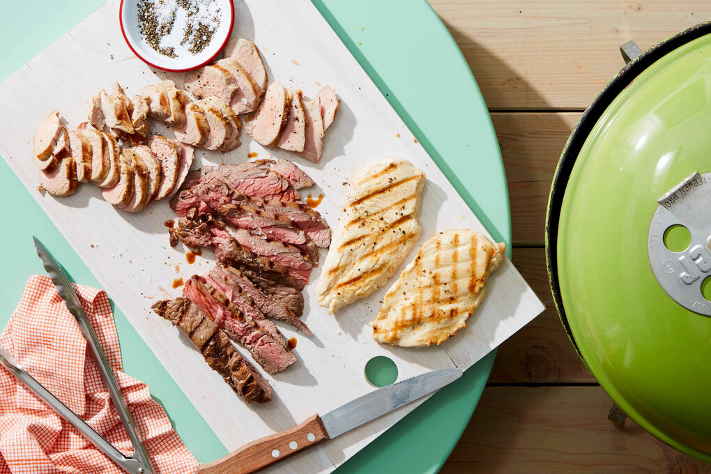 martha stewart and marley spoon meal kits grilled chicken and steak