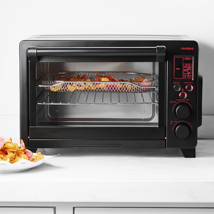 CRUXGG NEFI Six-Slice Digital Toaster Oven with Air Frying