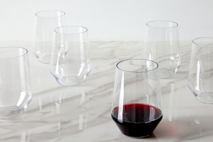Sole Outdoor Stemless Glassware