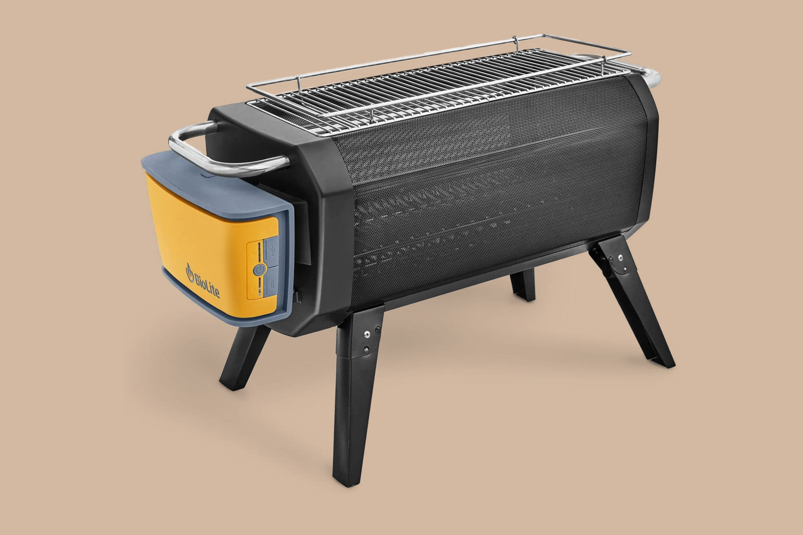 BioLite Outdoor Smokeless Wood and Charcoal Burning FirePit and Grill