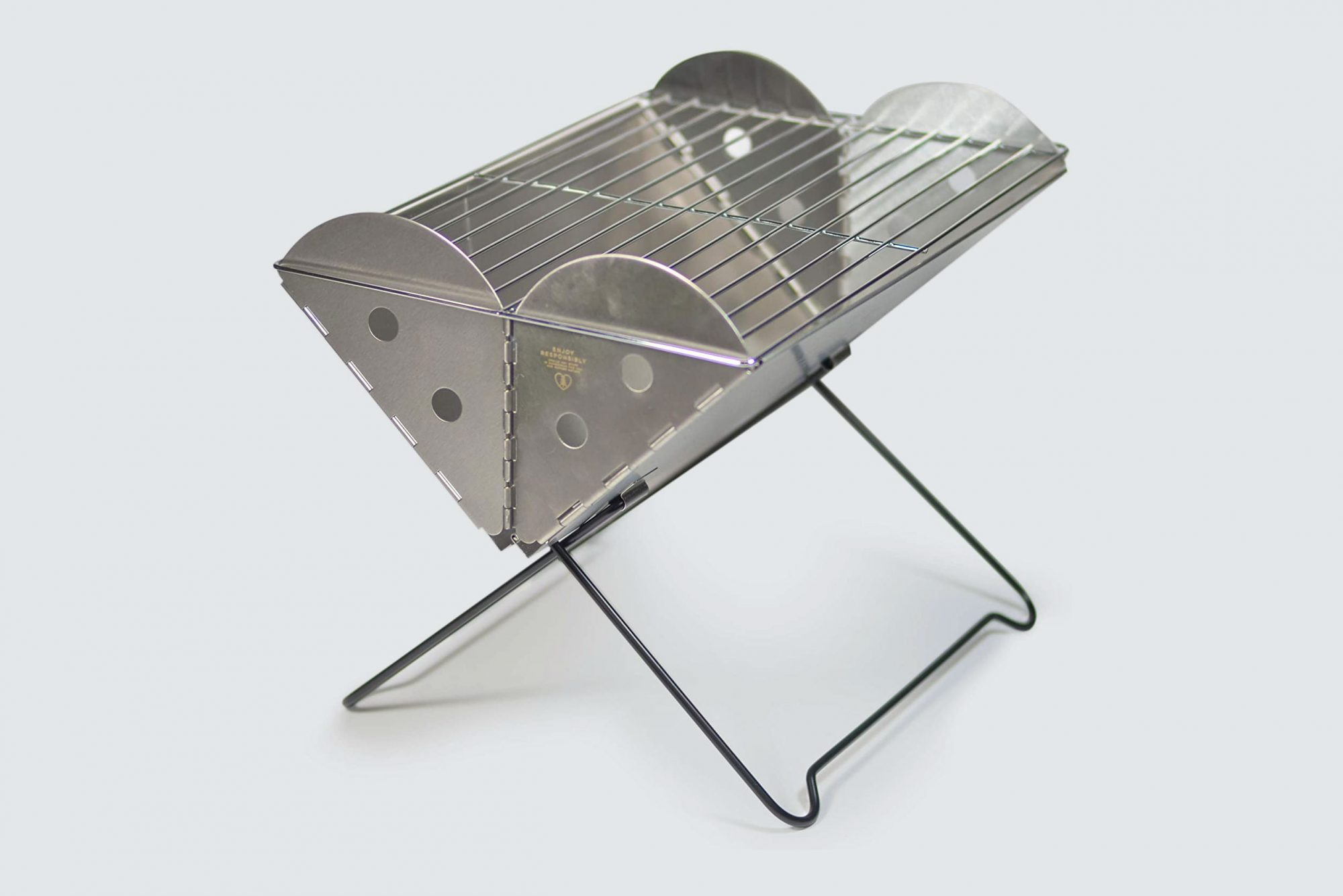 UCO Portable Stainless Steel Grill and Fire Pit