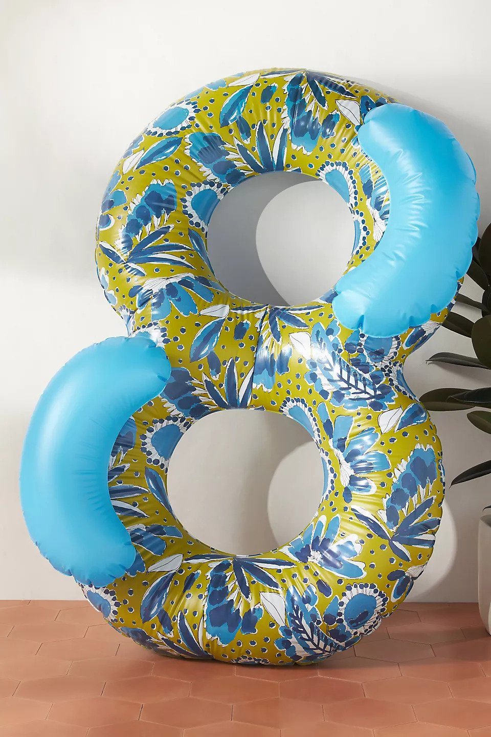 Vera for Anthropologie Periwinkle Double Pool Float