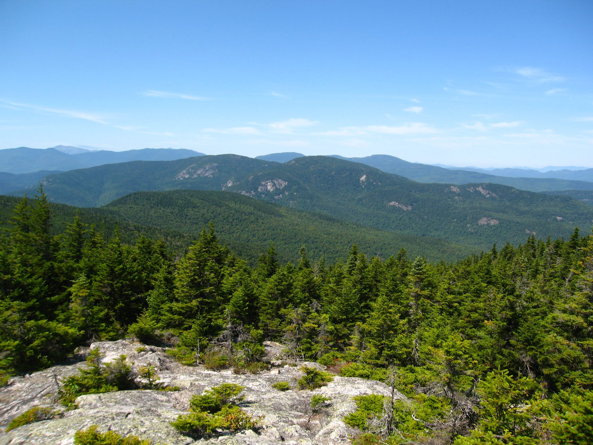 views from east royce mountain maine