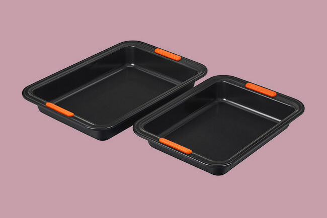 Le Creuset Cake Pans, Set of Two