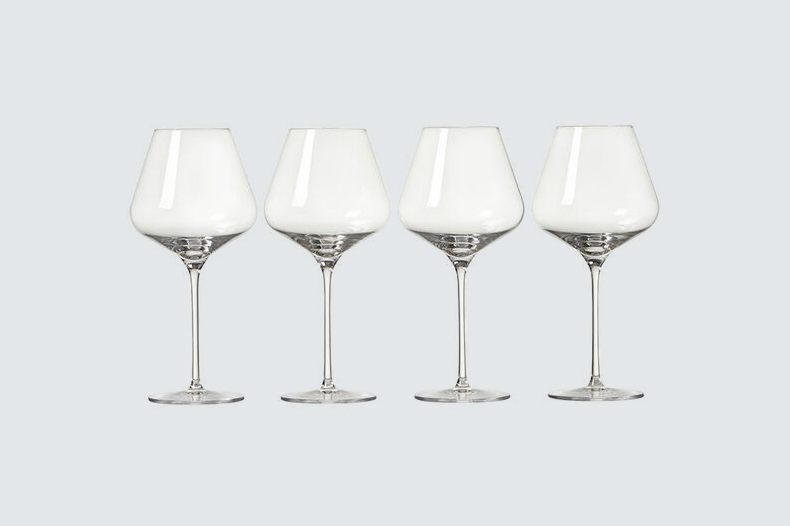 Le Creuset Red Wine Glasses, Set of Four