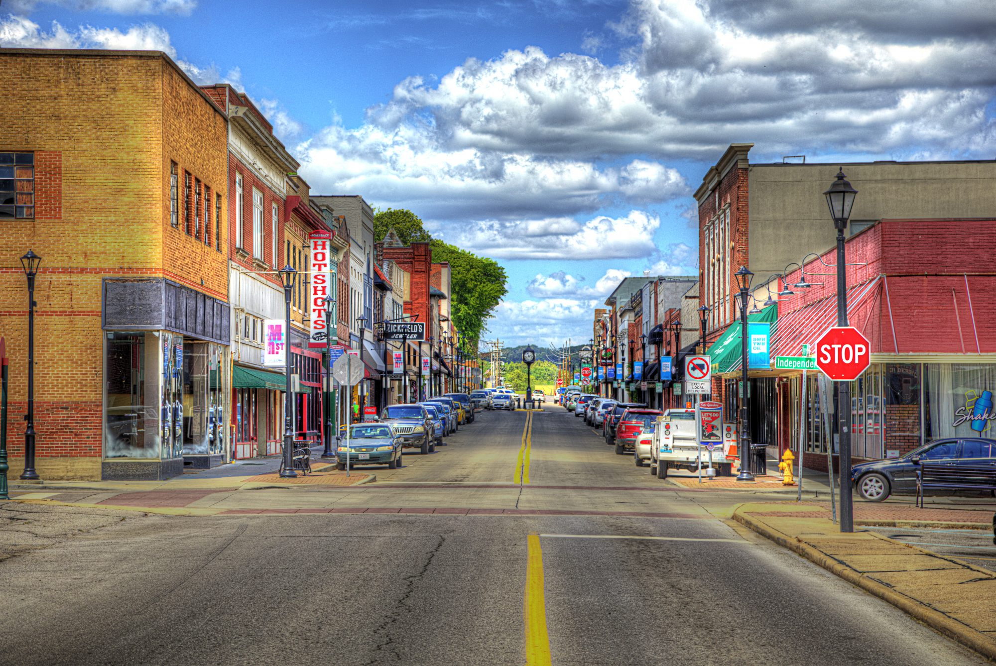 Main Street Looking Cape Girardeau Looking North