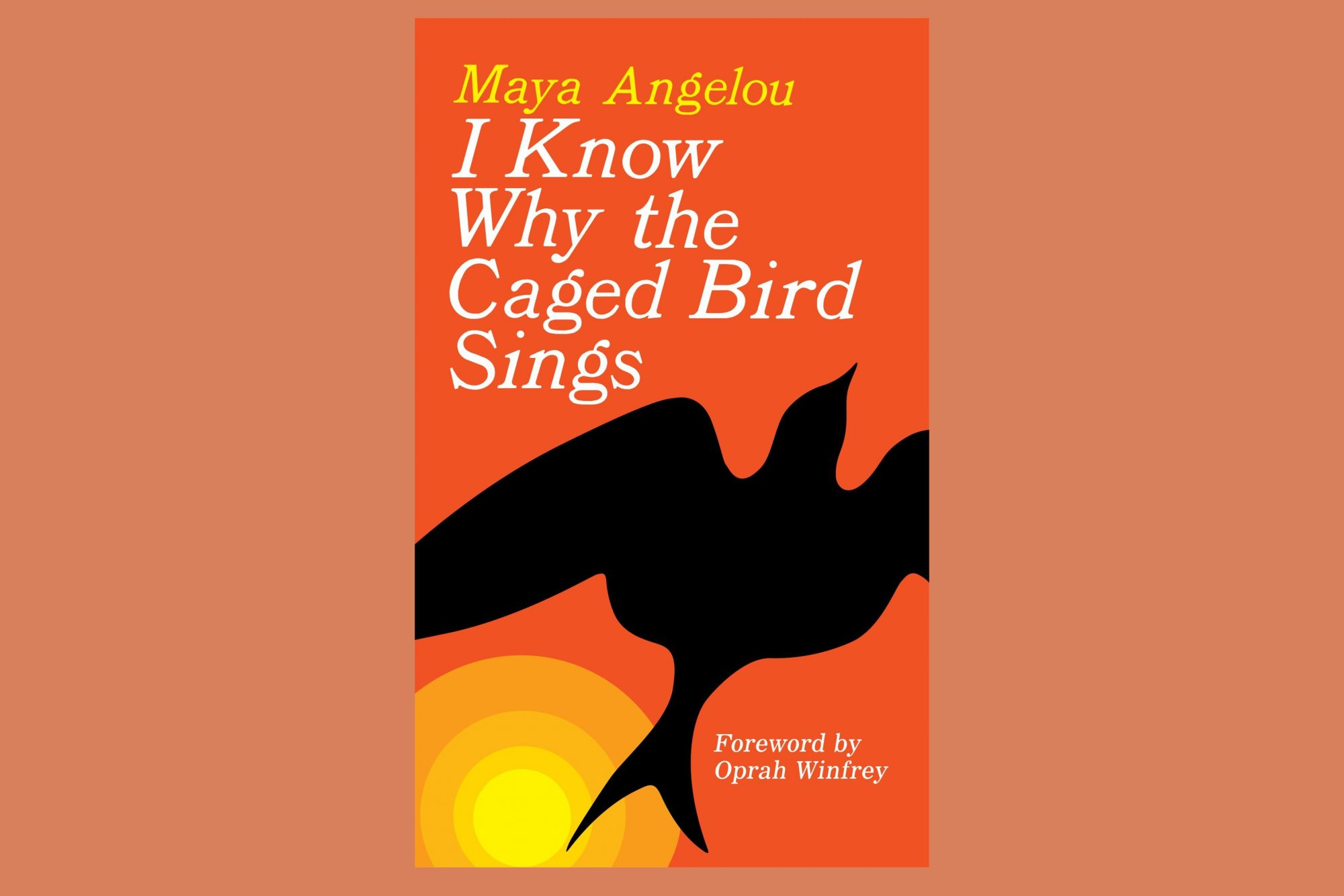 book jacket i know where the cage bird sings