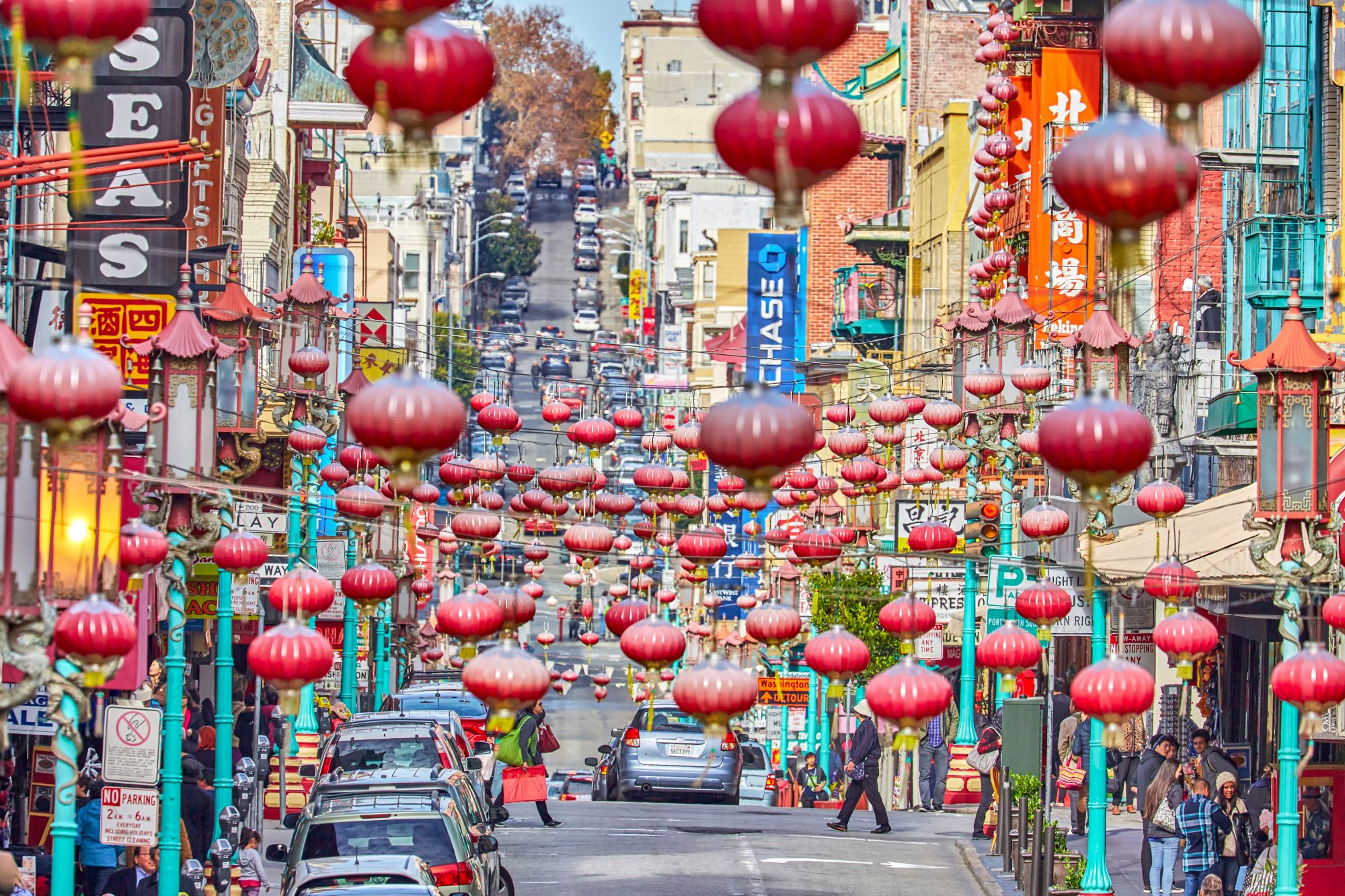 view of chinatown street san francisco