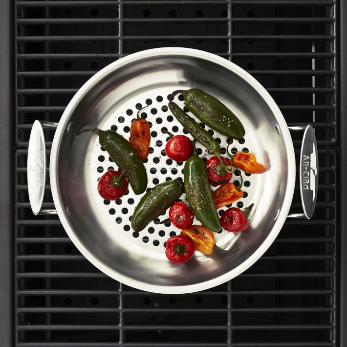 All-Clad Stainless Steel Outdoor Fry Pan