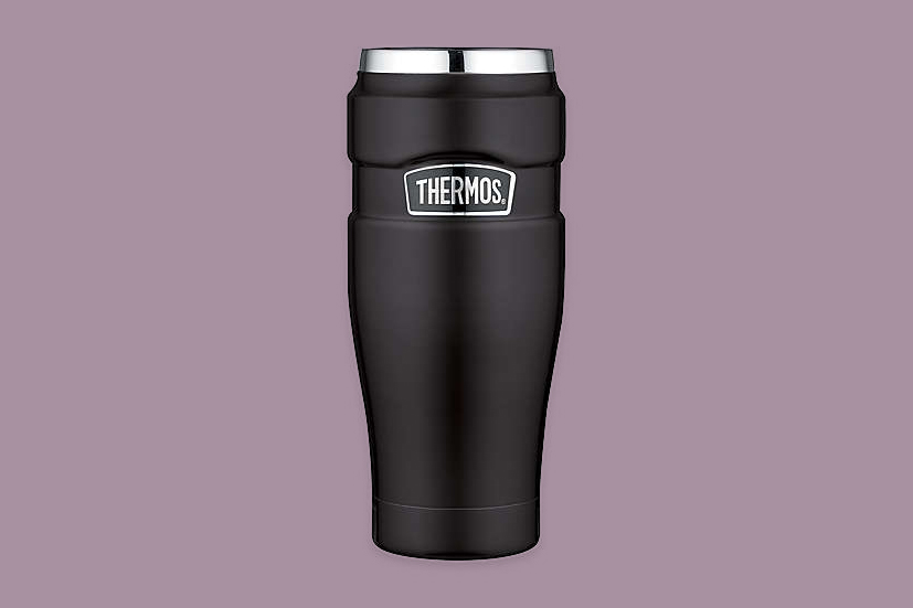 Thermos Stainless Steel King 16-Ounce Vacuum Insulated Travel Tumbler