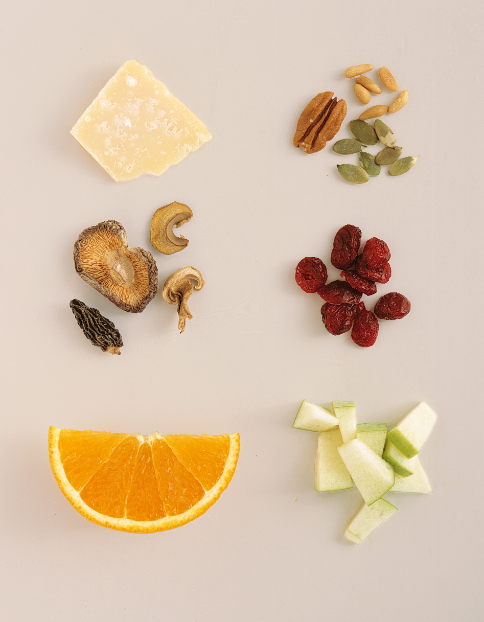 fruits and nuts for stuffing