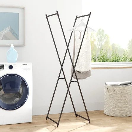 Dotted Line Valet Folding Drying Rack