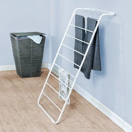 Rebrilliant Wall-Mounted Leaning Drying Rack