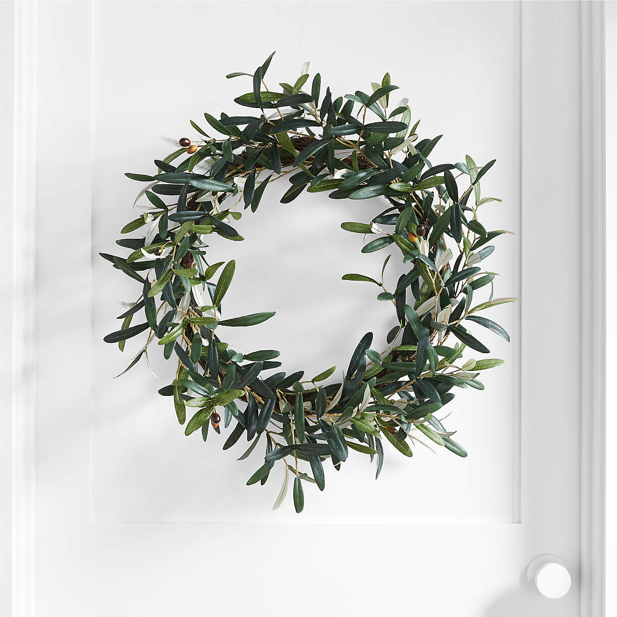 Crate and Barrel Olive Wreath