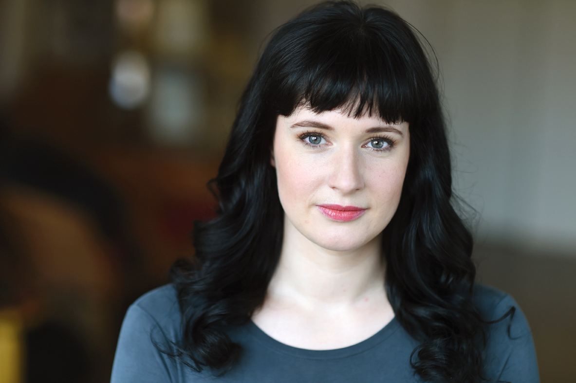 headshot of leanne brown outdoors