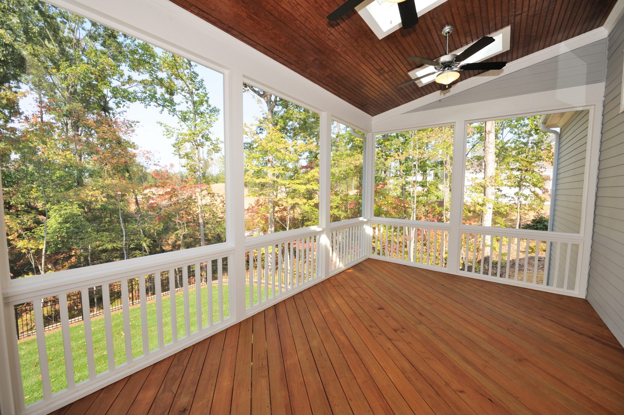 home screened in porch