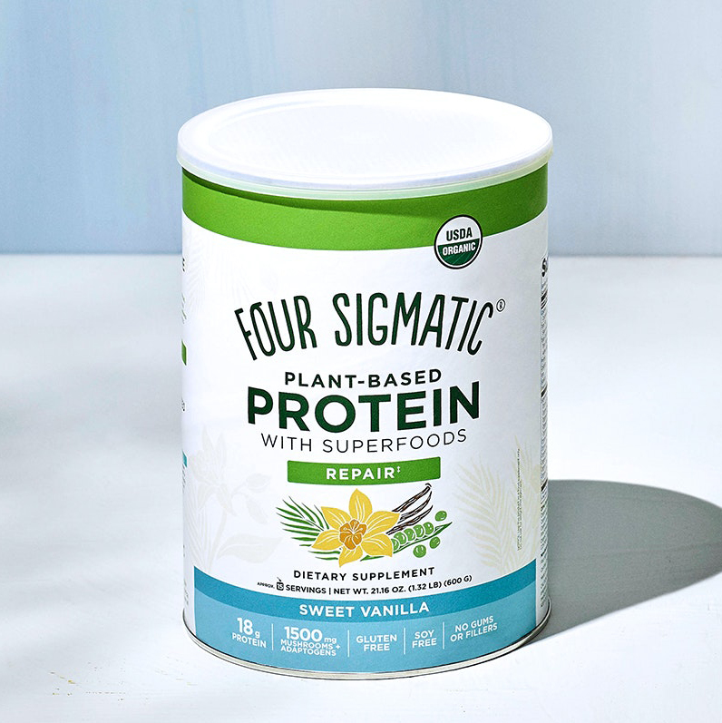 Four Sigmatic Plant-Based Protein