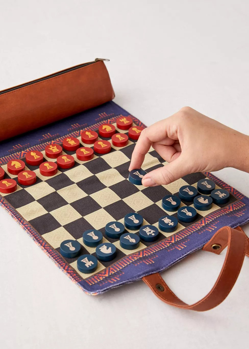 Pendleton Roll-Up Chess and Checkers Set