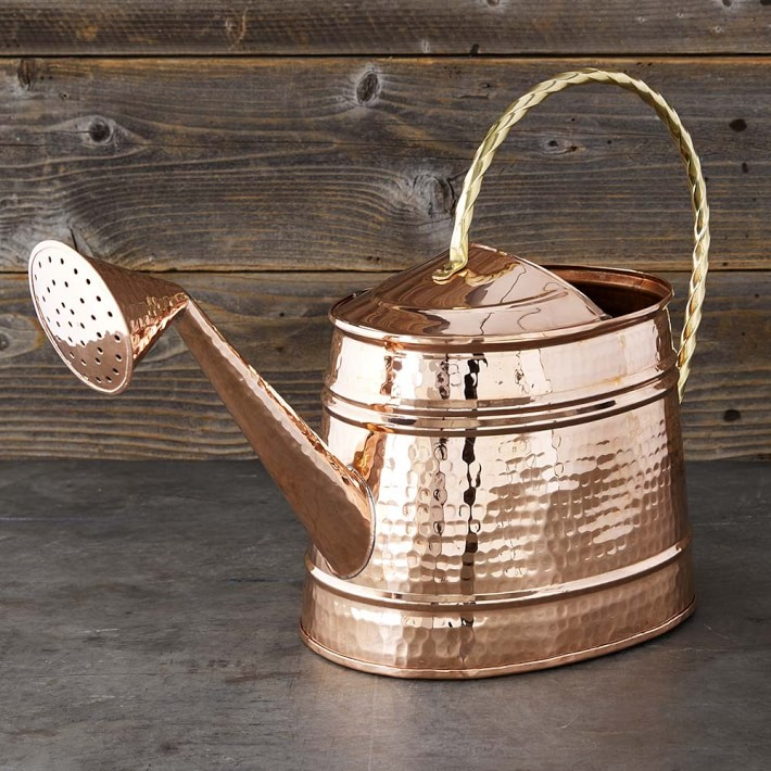 Williams Sonoma Copper Extra-Large Watering Can