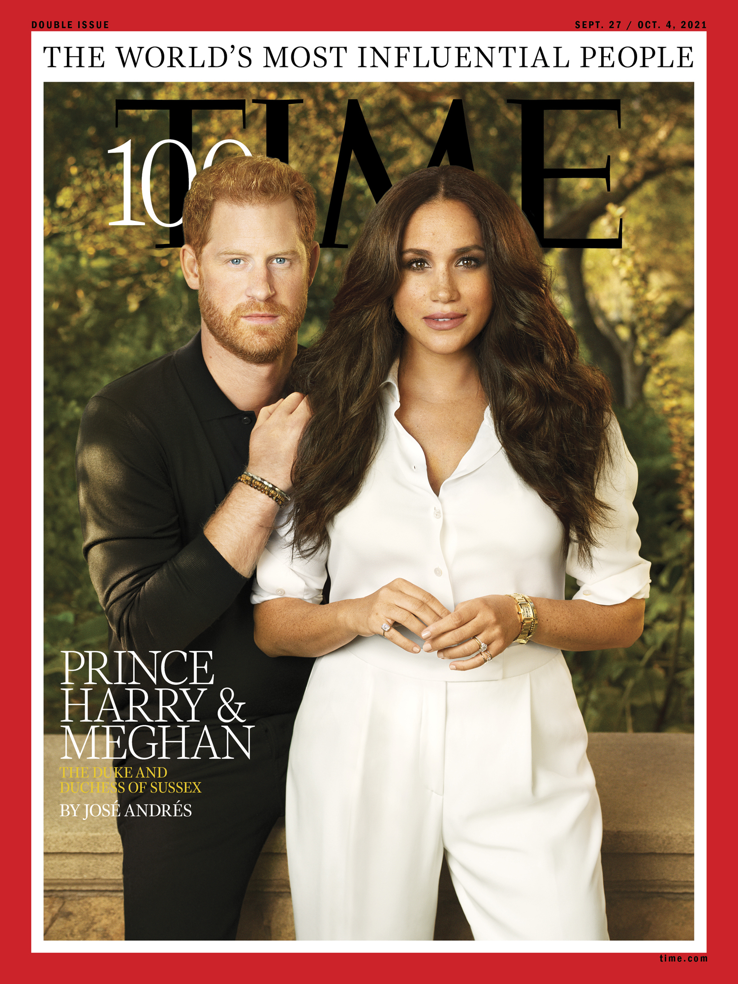 cover of Time 100 Most Influential People in the World