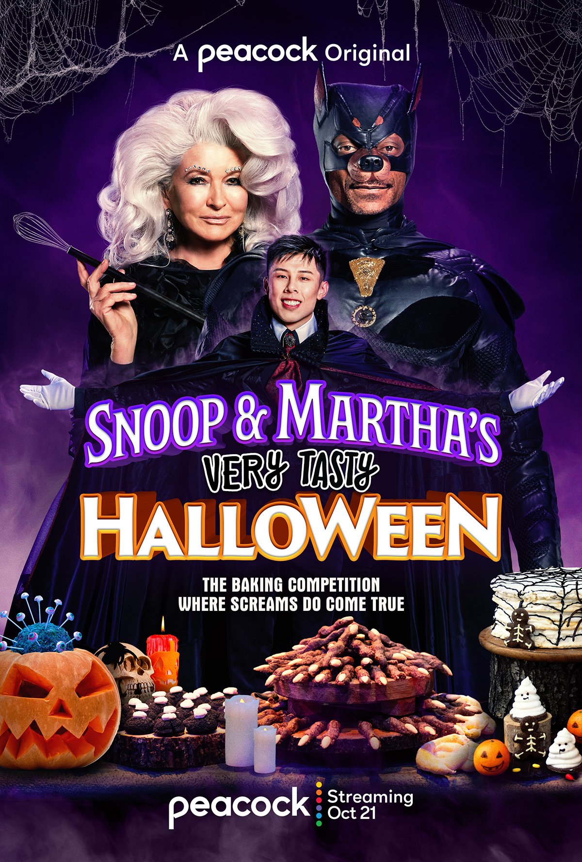 poster for Martha and Snoop Halloween special