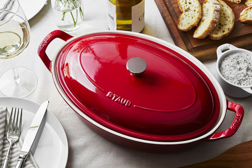 Staub 13.5-Inch Oval Bakers