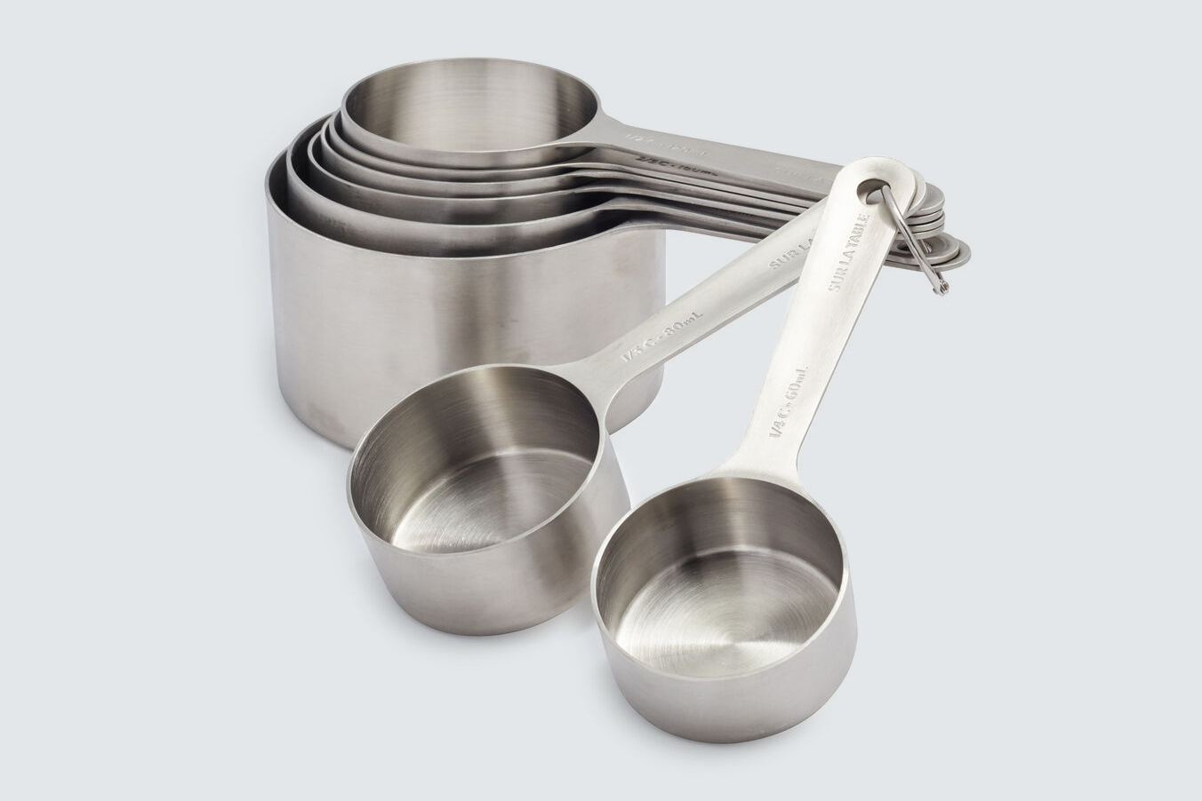 Sur La Table Stainless Steel Measuring Cups
