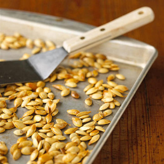 Pumpkin Seeds in Shell, Dry-Roasted with a Dash of Table Salt