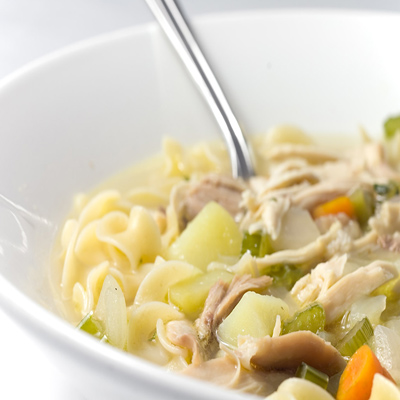 Hydrating Food: Chicken Noodle Soup