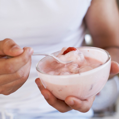 Full-Fat, Sugary Yogurt