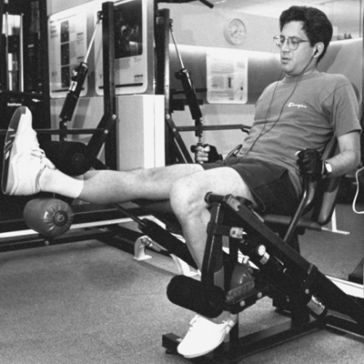 Then: The Leg Extension Machine
