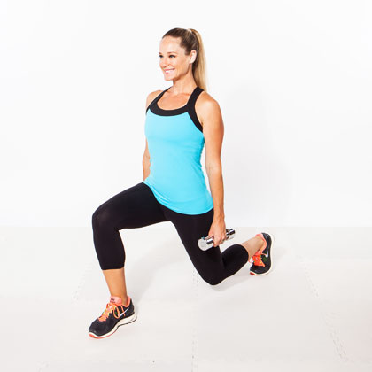 2: The Stationary Lunge