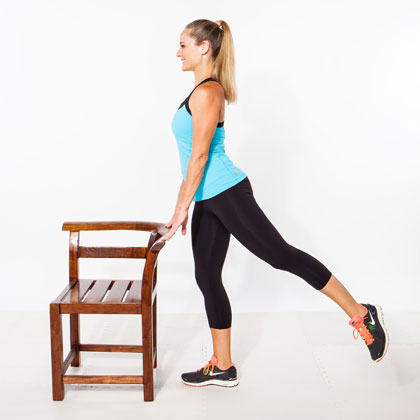 8. Standing Hip Extensions