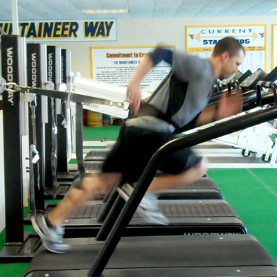 The Woodway Force Treadmill