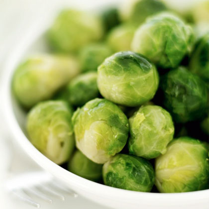 33 Calories: Brussels Sprouts