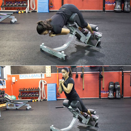 Glute and Hamstring Extension