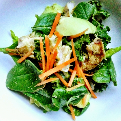 Energy-Packed Paleo Green Salad