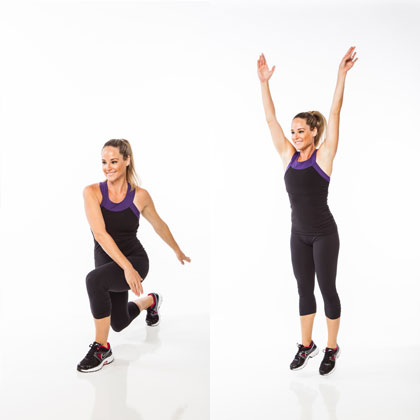 Figure-8 Lunges