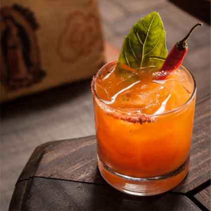 Tequila Park's Angry Rabbit Margarita