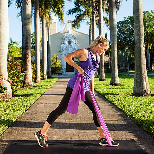 Total-Body Sculpting: The Resistance Band Workout - Shape Magazine