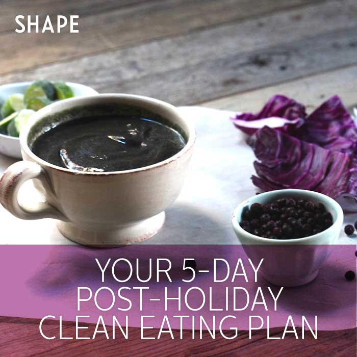 5-Day Clean Eating Meal Plan