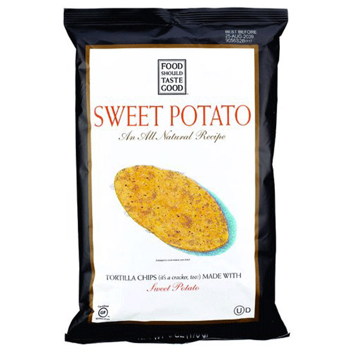 Best Potato Chips: Food Should Taste Good Sweet Potato Tortilla Chips